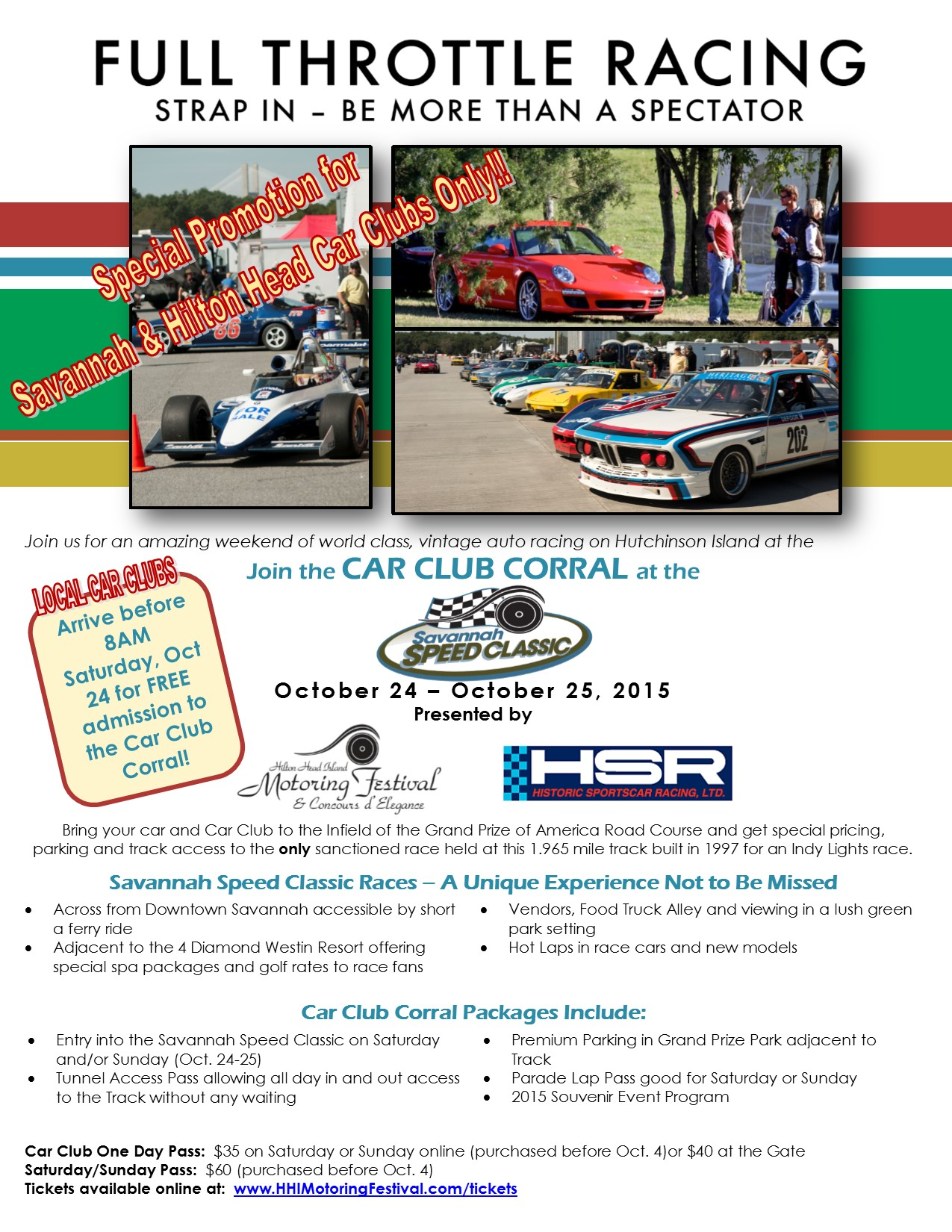 Upcoming Events | Savannah Speed Classic Car Club Corral ...